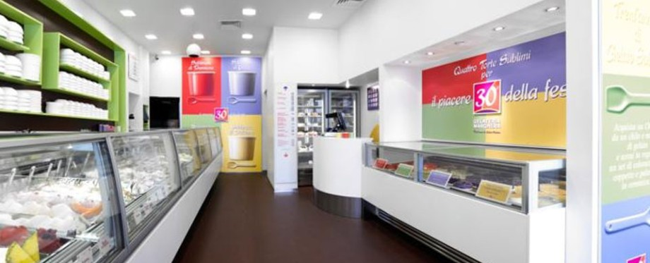 Gelateria Shop Design Artisan Great Gelato Valentis